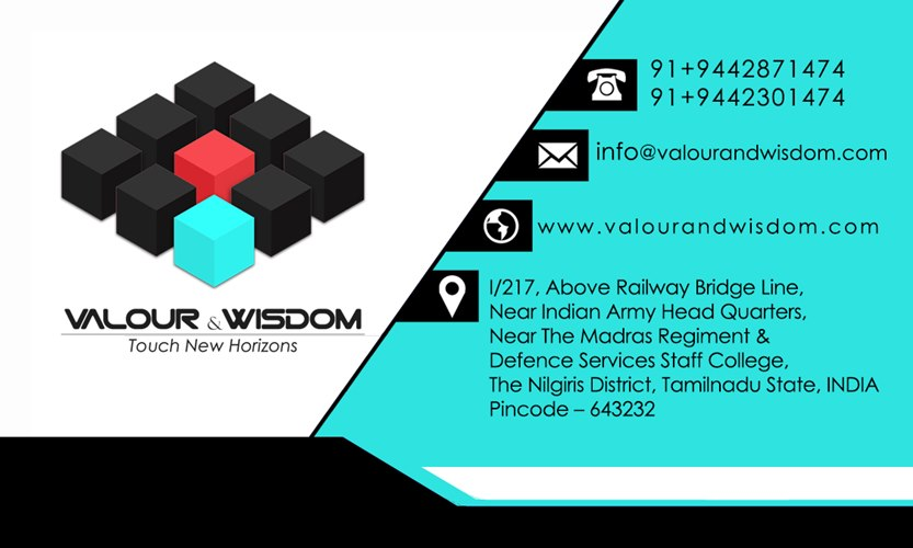 Valour U0026 Wisdom U2013 Visiting Card