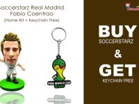 Soccerstarz Real Madrid Fabio Coentrao - Home Kit + Keychain Free-min-min