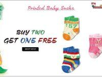 Wonderkids Printed Baby Socks-min-min