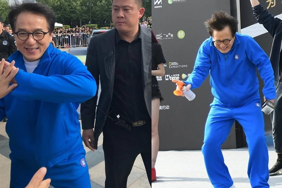 Jackie Chan at National Geographic Event